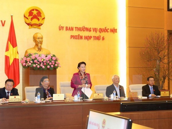 NA Standing Committee to convene 10 sessions in 2017 hinh anh 1