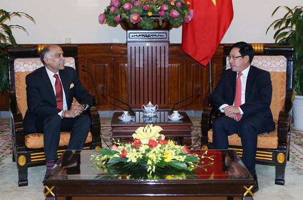 Deputy Prime Minister receives Indian Ambassador hinh anh 1