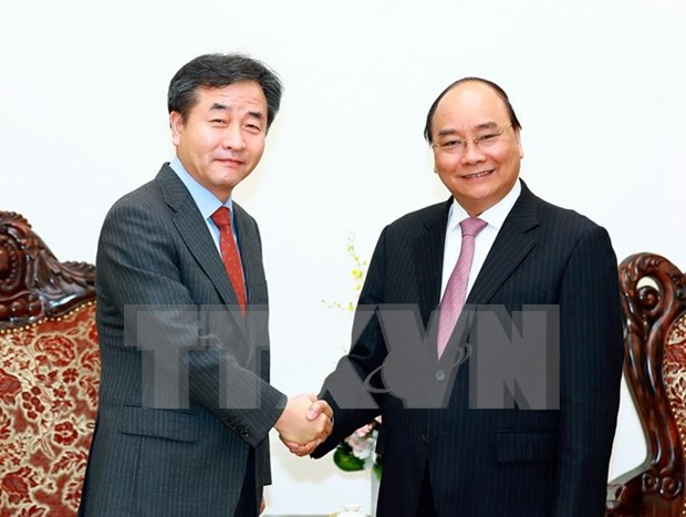 Prime Minister welcomes Yonhap President hinh anh 1