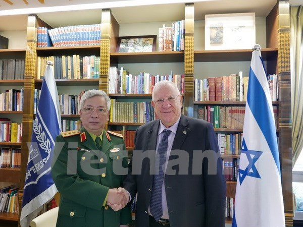 Israeli President voices support for stronger defence ties with Vietnam hinh anh 1