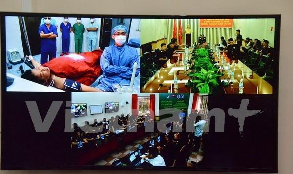 Vietnam supports Cambodian hospital via telemedicine hinh anh 1