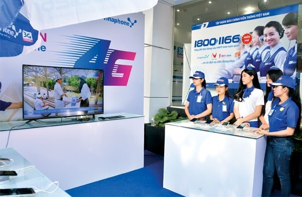 Telecoms giants gear up for 4G hinh anh 1
