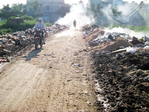 Bac Ninh trade villages face major pollution hinh anh 1