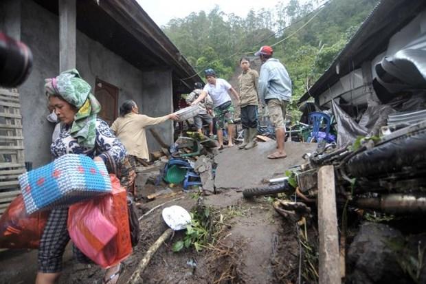 Indonesia: 12 people killed in landslides hinh anh 1