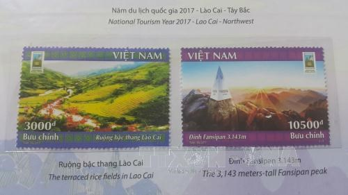 Lao Cai issues stamp collection hinh anh 1