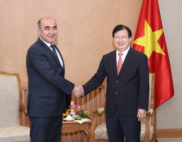 Vietnam, Uzbekistan urged to speed up multi-dimensional ties hinh anh 1