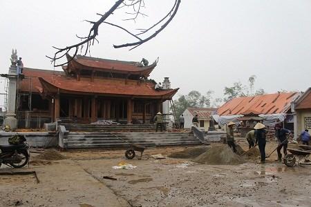 Ha Tinh: Renovated King Mai Hac De temple inaugurated hinh anh 1