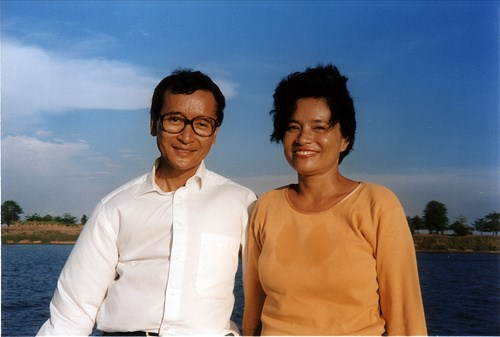 Cambodia: Sam Rainsy recommends his wife as CNRP President hinh anh 1