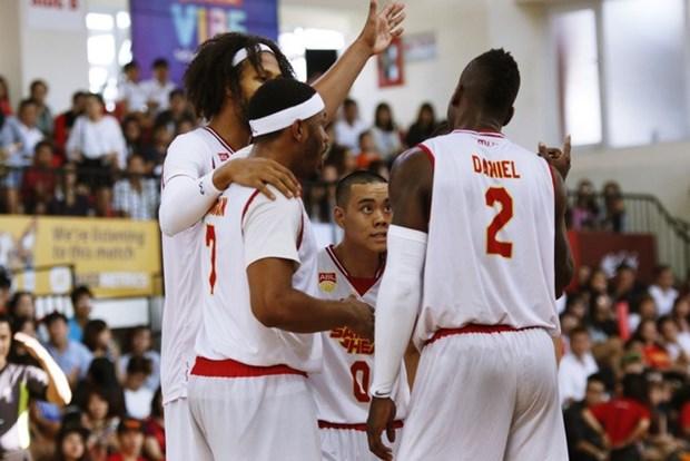 Saigon Heat defeat Kaohsiung Truth at ASEAN Basketball League hinh anh 1