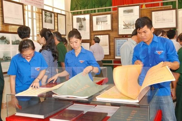 Hoang Sa, Truong Sa exhibition comes to Thai Nguyen hinh anh 1