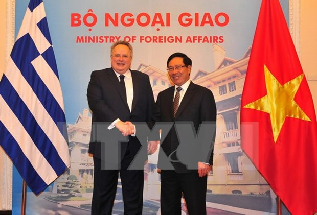 Greece looks to bolster multifaceted cooperation with Vietnam hinh anh 1