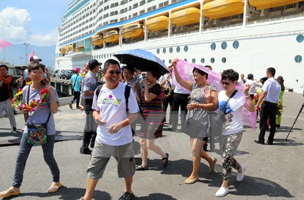 Chan May port expects to welcome 49 cruise ships in 2017 hinh anh 1