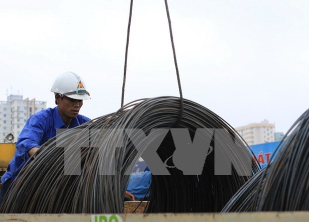Steel production slumps in January hinh anh 1