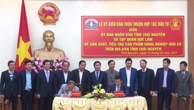 Thai Nguyen boosts organic farming hinh anh 1