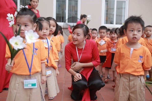 Soc Trang enables five-year-olds to access preschool education hinh anh 1