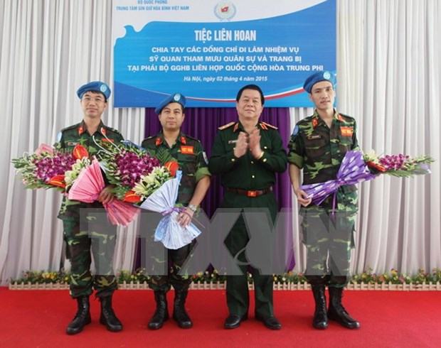 Vietnam shows good performance in UN peacekeeping operations hinh anh 1