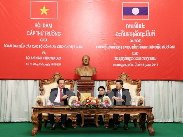 Vietnam, Laos enhance cooperation in public security hinh anh 1