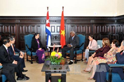 Vietnam, Cuba foster parliamentary relations hinh anh 1
