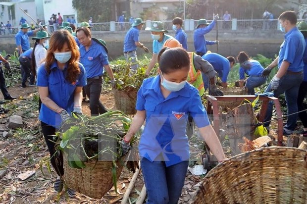 Action month to call for more efforts in environmental protection hinh anh 1