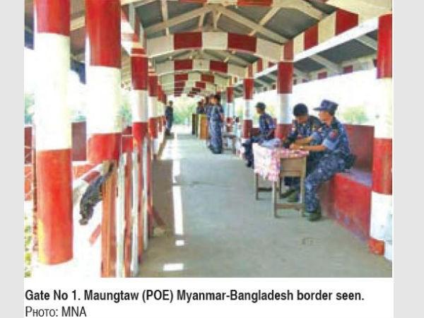 Myanmar reopens border gate with Bangladesh hinh anh 1
