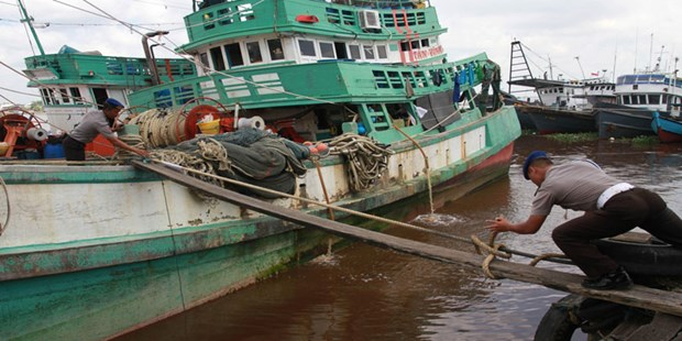 29 Vietnamese detained in Australia for illegal fishing hinh anh 1