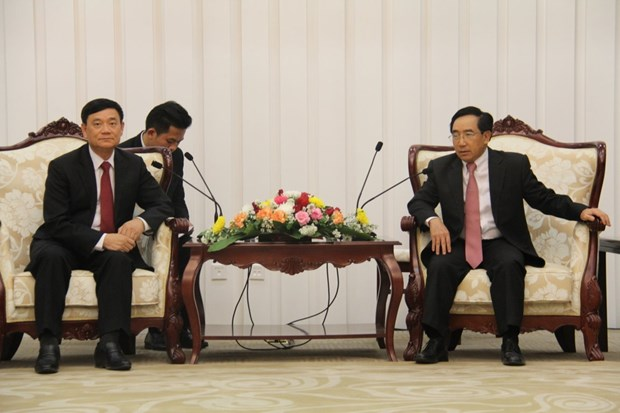 Vietnam, Laos promote people-to-people exchanges hinh anh 1