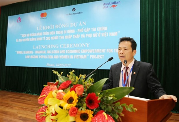 First mobile banking for the poor launched hinh anh 1