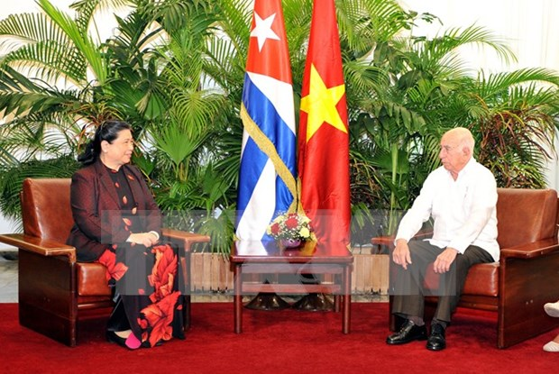 Vietnam, Cuba vow to reinforce relations hinh anh 1