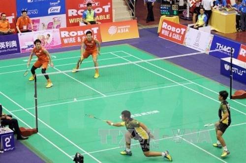 Japan takes badminton Asia mixed team championship hinh anh 1