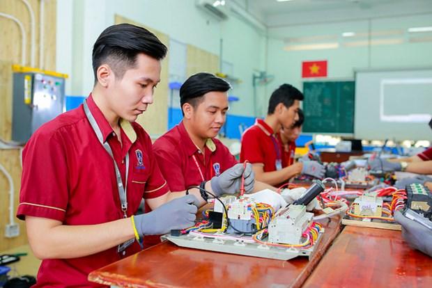 New training courses designed for Samsung Vietnam hinh anh 1