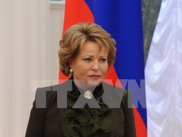 Russia's Federal Council leader begins official visit to Vietnam hinh anh 1