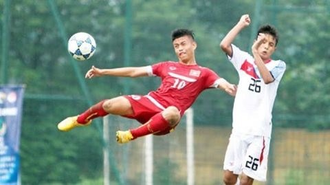 Vietnam draws with Yunnan in youth football tournament hinh anh 1