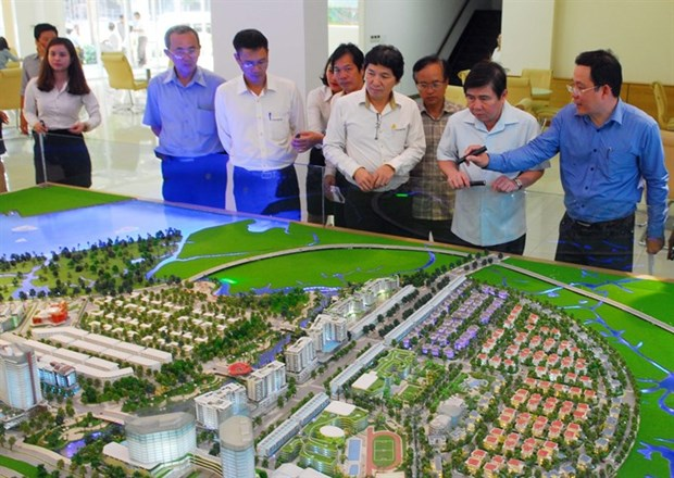 HCM City urges accelerating Peninsula land clearance hinh anh 1