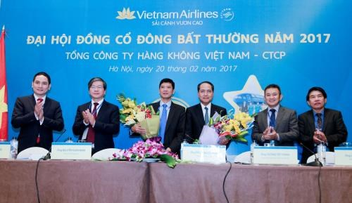 Vietnam Airlines holds extraordinary shareholder meeting hinh anh 1