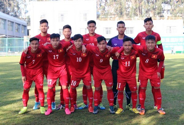 Vietnam U19 lose to Chinese province hinh anh 1