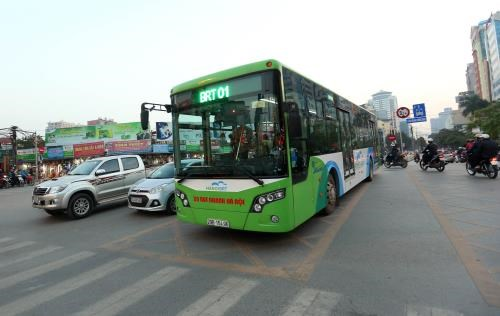 Hanoi to launch second BRT bus hinh anh 1