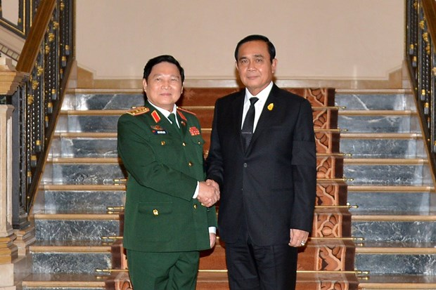 Vietnam, Thailand enhance defence partnership hinh anh 1