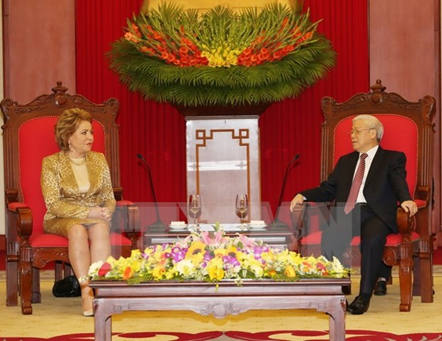 Russia to do everything possible to bolster ties with Vietnam hinh anh 1