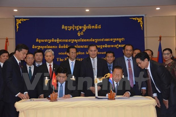 Vietnam, Cambodia boost bilateral cooperation hinh anh 1