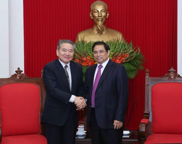 Japan, Vietnam communist parties strengthen relations hinh anh 1