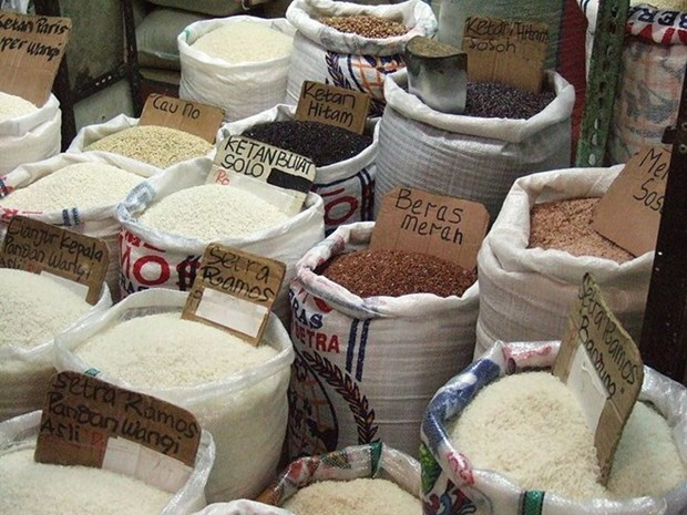 Indonesia upbeat about meeting rice demand this year hinh anh 1