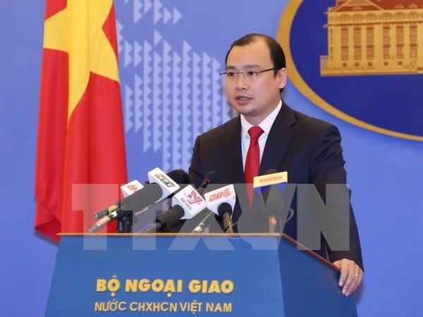 Vietnam urges responsible behaviour in East Sea hinh anh 1