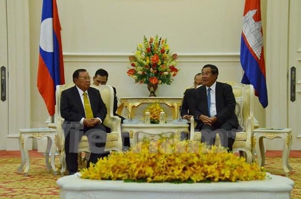 Cambodia, Laos enhance bilateral relations hinh anh 1