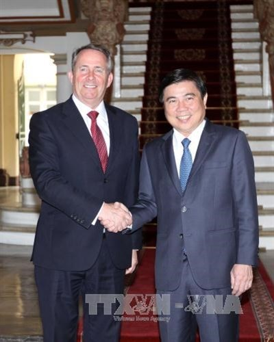 HCM City hopes for stronger cooperation with UK hinh anh 1