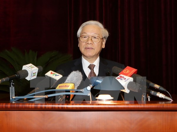 Party chief directs Party inspection, supervision in 2017 hinh anh 1