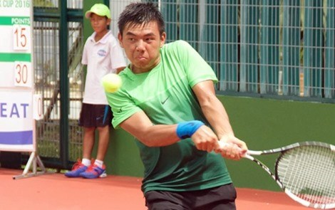 Vietnamese tennis players exits after China F2 second round hinh anh 1