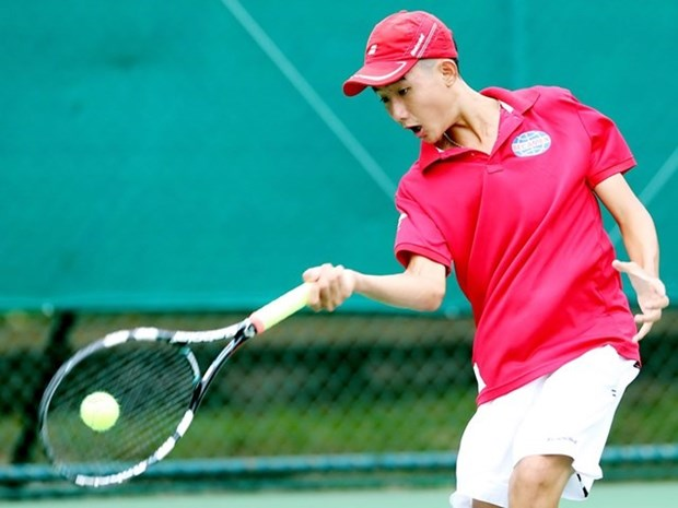 Vietnam enter Davis Cup junior semis hinh anh 1