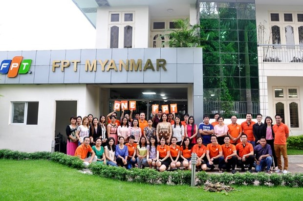 FPT wins major IT contract in Myanmar hinh anh 1