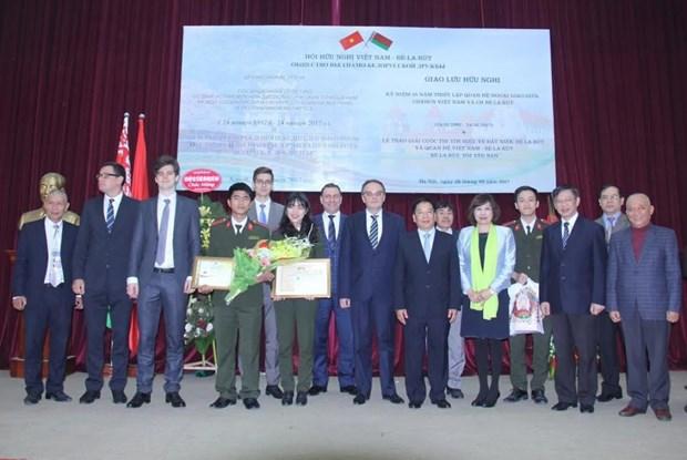 Vietnam, Belarus celebrate 25 years of partnership hinh anh 1