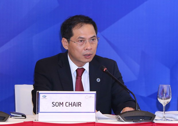 APEC committees, working groups finish 10th day of SOM 1 hinh anh 1